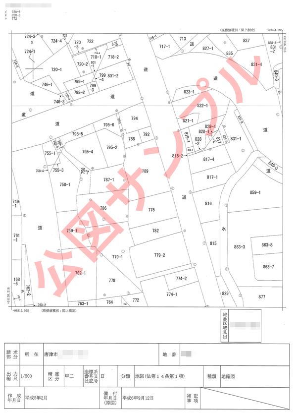 法務局 字 図 ダウンロード